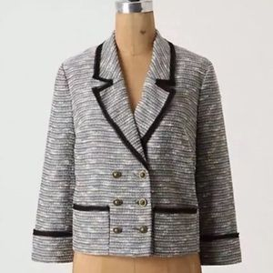 Anthropologie Coquille Todays Special Tweed Blazer